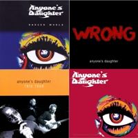 Cover ANYONE'S DAUGHTER: The Complete Recordings 2001 - 2010